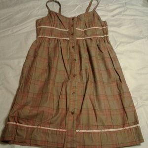 Volcom Dresses - Volcom Plaid Sun Dress